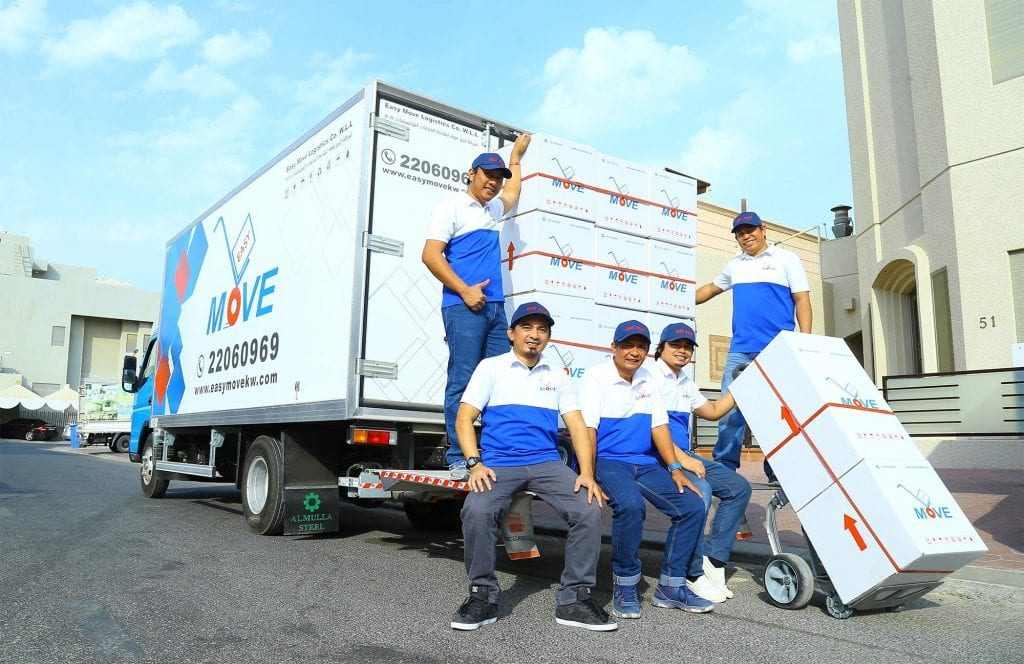 A group of experienced international movers Kuwait - Easy Move KW