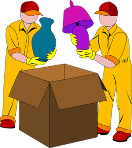 Hire professional packers to help you pack and label moving boxes
