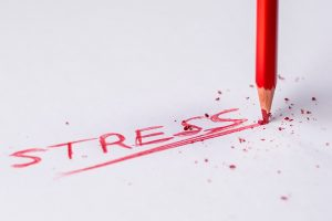 Writing a word stress on a paper