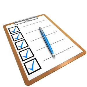 A checklist for moving