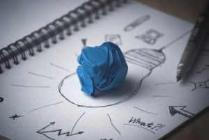 Drawing an idea for business