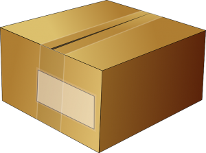A box for shipping