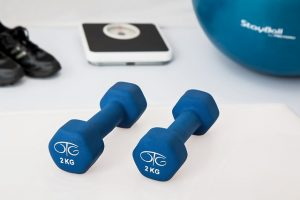 Fitness equipment for staying healthy during moving.