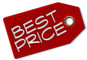 Price tag for air freight forwarders.