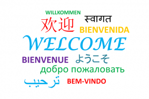 """How to say """"Welcome"""" on different languages."""