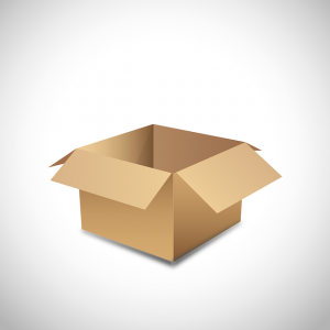 Open the box and Unpack into a Small Kitchen