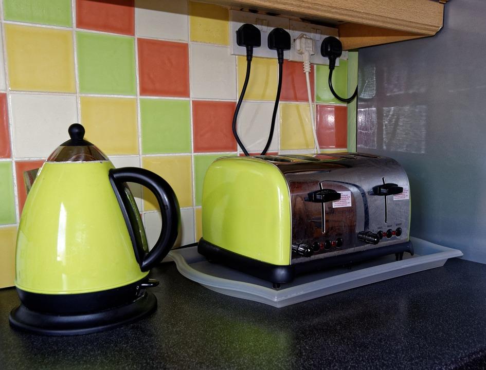 Green kitchen appliances