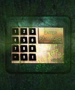 Coded keypad lock - safe storage facilities use these kind of locks