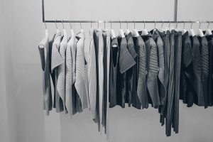 Clothe hangers are a good way of keeping your clothes in order