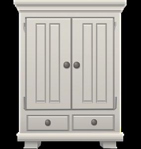 a white closet