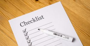 Having a checklist to guide you through a stress-free moving day is a good idea.