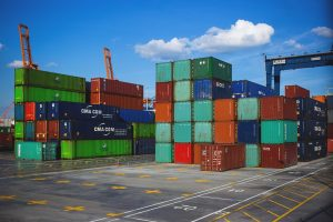 Shipping containers with dangerous goods are forbidden for transportation