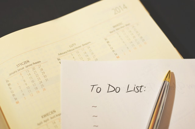 To-do list and a calendar. Here are some things to add to your post-move checklist.