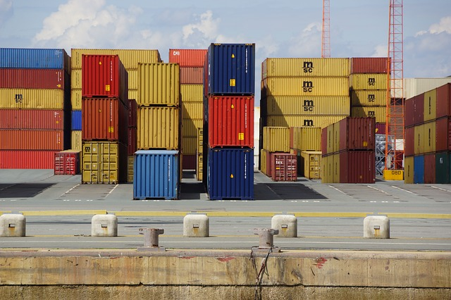 Cargo containers. Here's some ways of transporting your business goods.