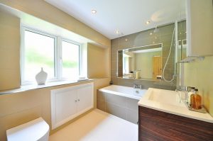 unpack a house in a day - bathroom