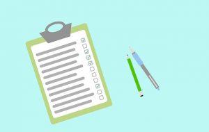 Stay organized - a checklist