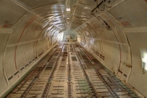 Looking at an empty cargo bay and thinking about air freight facts