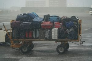 Baggage at airport