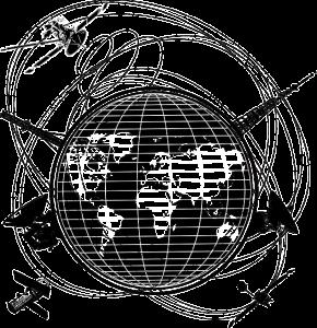 Illustration of satellites