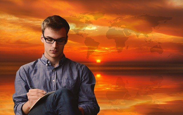 A man choosing the right time to start preparing for international relocation
