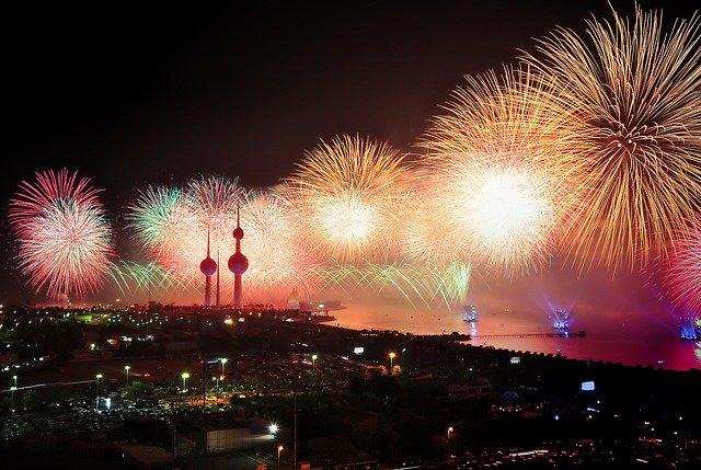 Fireworks in Kuwait