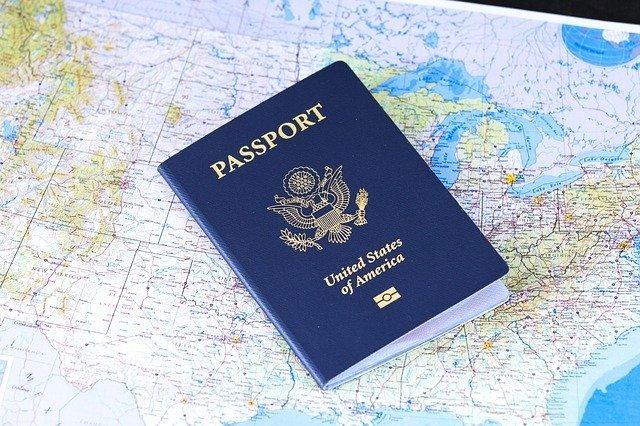 Map and passport