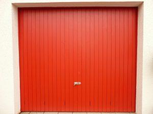 a storage unit door