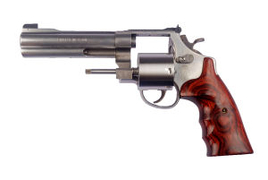 Smith and Wesson gun as an example of risk of illegal import