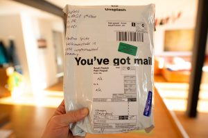you've got mail-printed pack
