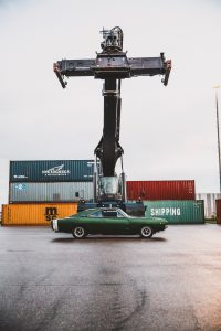 Car and a container