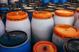 gasoline barrels