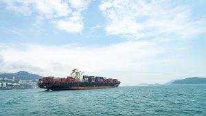 a shipping ship