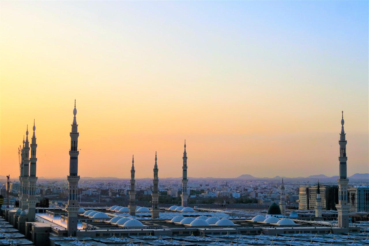 view of buildings in Saudi Arabia