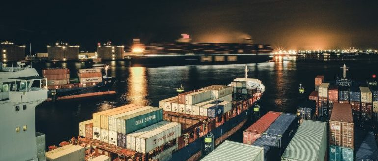 A ship with cargo, time to pick the right cargo company