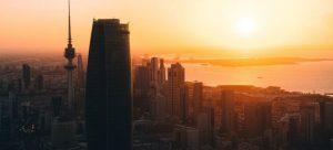 Kuwait during sunset