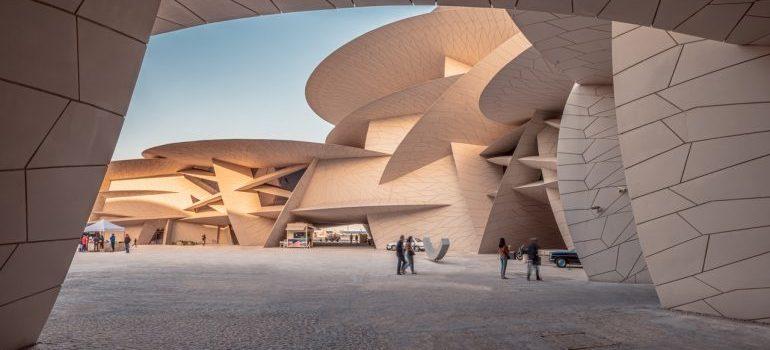 A building in Doha, Qatar