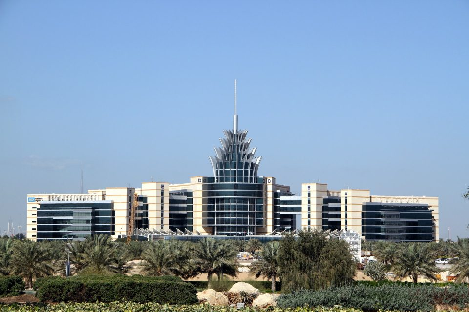 Office building in the Middle East