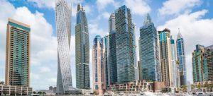 Breathtaking Dubai skyline