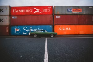 storage to ship your vintage car overseas