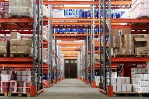 A huge warehouse
